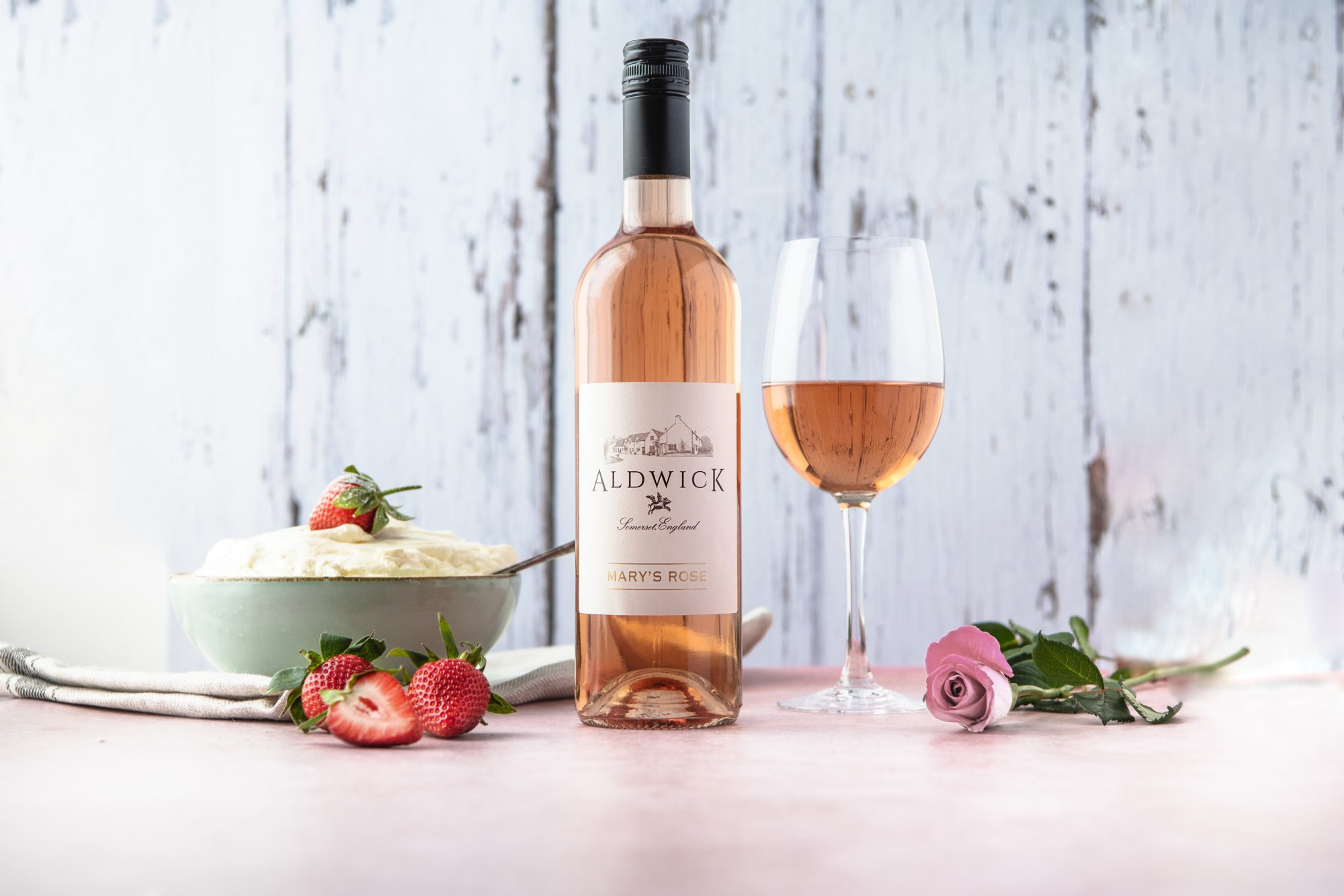 Aldwick Estate rose wine