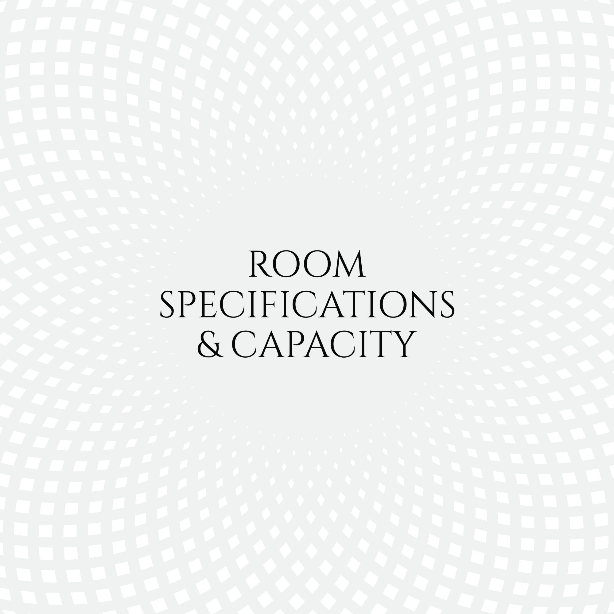 Room secifications at Aldwick Estate